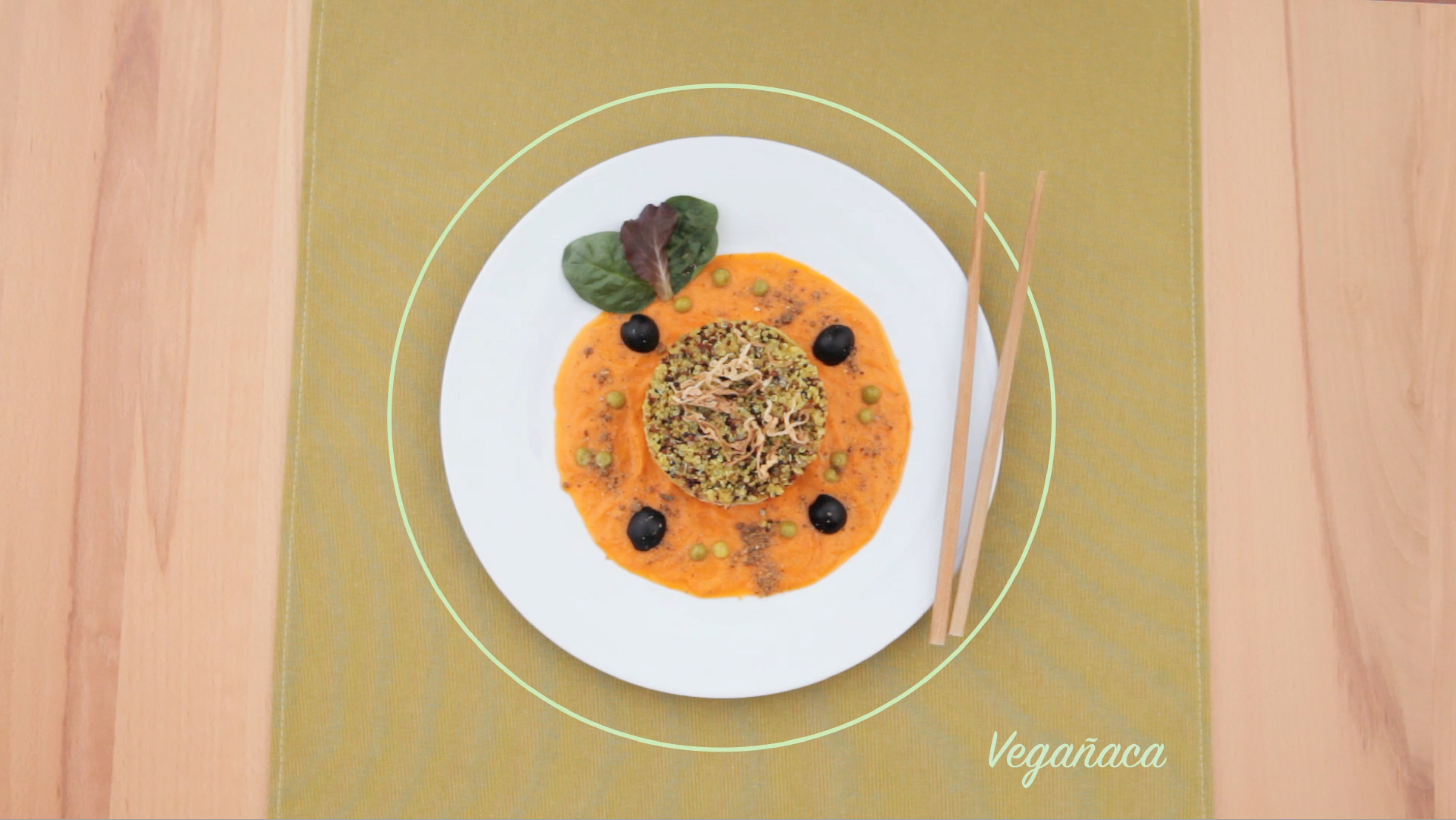 vegañaca receta video