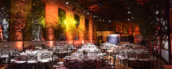 cena de gala real fabrica tapices