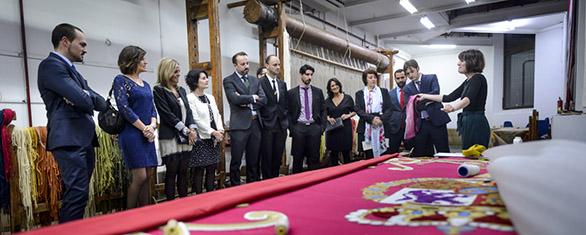 fabrica de tapices visita
