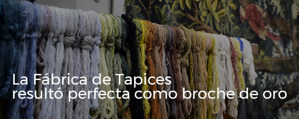 fabrica real tapices Madrid evento