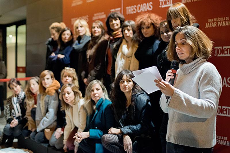Preestreno, Cines Golem Madrid, Irán, Activismo, Jafar Panahi, Fariba Ehasn,