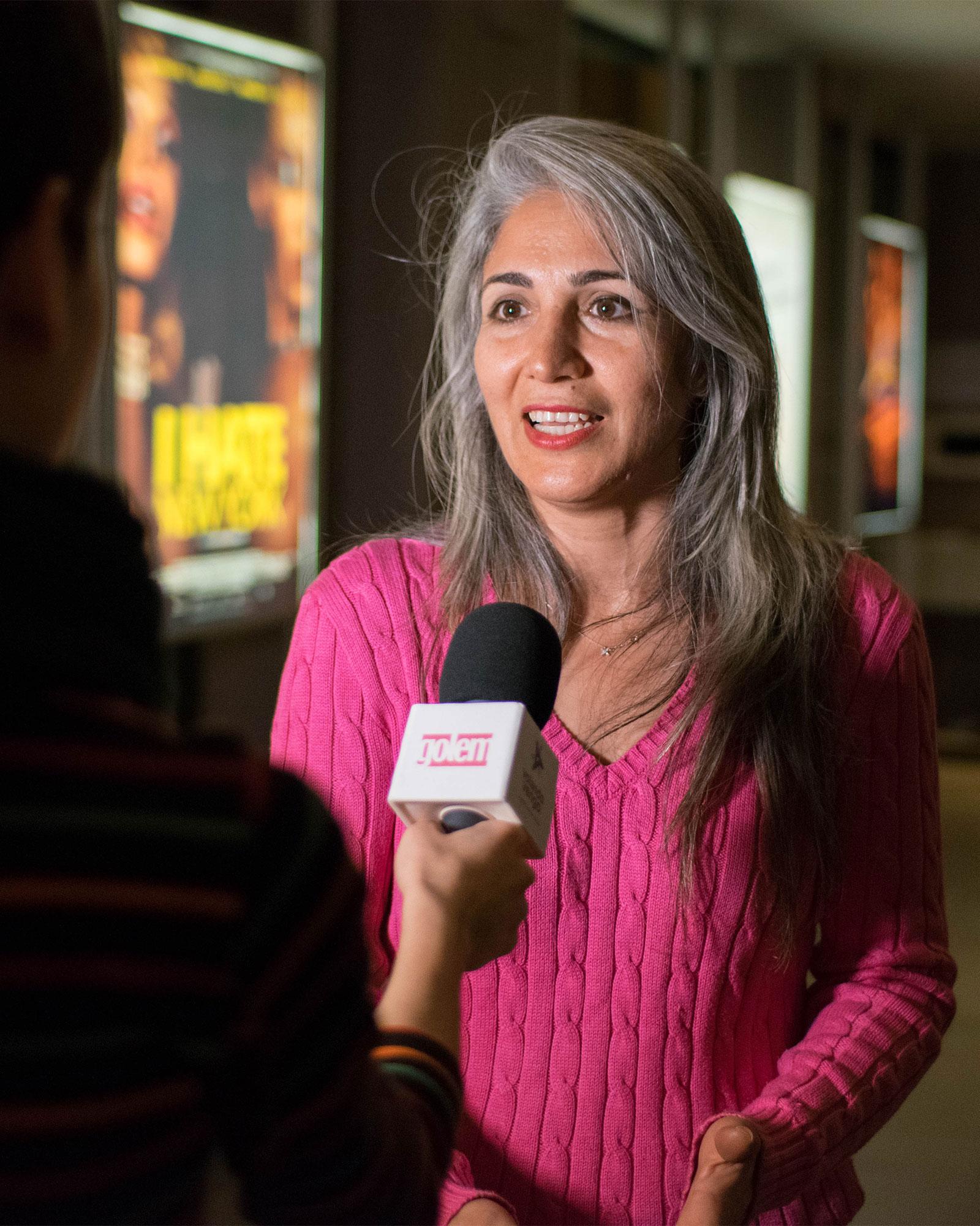 Entrevista, preestreno Tres Caras, Fariba Ehsan, cines Golem, Jafar Panahi